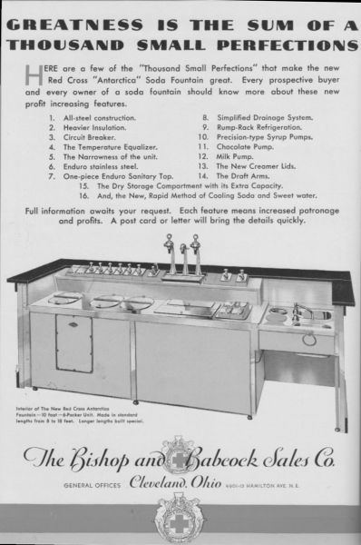 Soda Fountain History Red Cross Soda Fountains